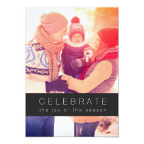 Celebrate the Joy of the Season Christmas Pot Luck Card