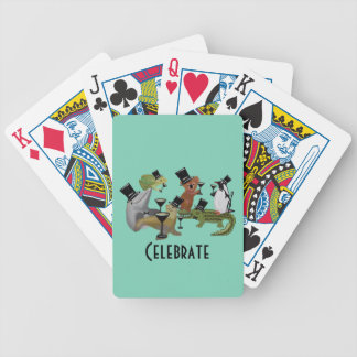 Celebrate the Night Playing Cards Bicycle Playing Cards