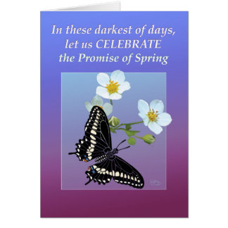 Celebrate the Promise of Spring Card