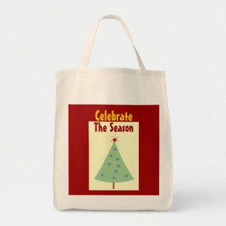Celebrate The Season Holiday Tote Bag