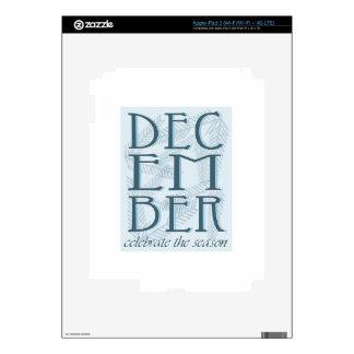 Celebrate The Season iPad 3 Decals