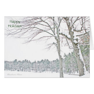 Celebrate the Spirit of the Season: Walden Pond Card