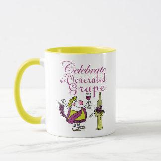 Celebrate the Venerated Grape Mug