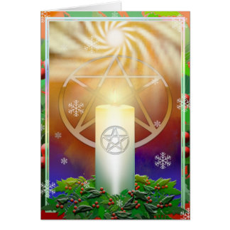 Celebrate the Warmth of the Yule Sun Card