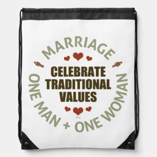 Celebrate Traditional Values Backpacks