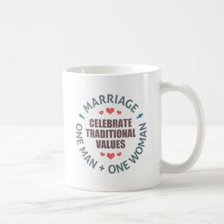 Celebrate Traditional Values Coffee Mug