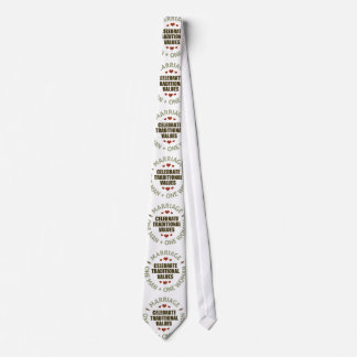 Celebrate Traditional Values Neck Tie