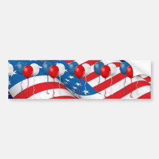 Celebrate USA Bumper Sticker