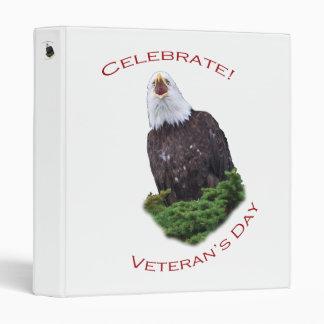 Celebrate Veteran's Day 3 Ring Binder