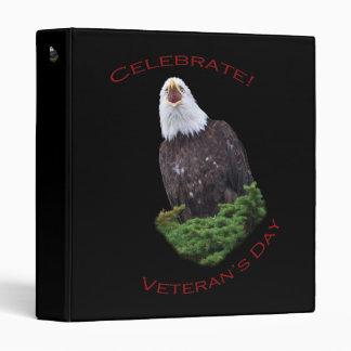 Celebrate Veteran's Day Vinyl Binder