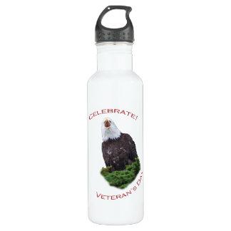 Celebrate Veteran's Day 24oz Water Bottle