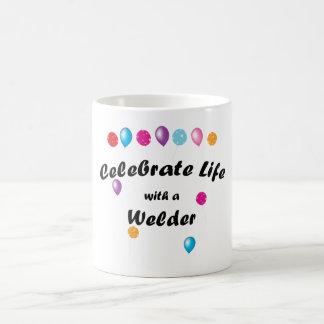Celebrate Welder Coffee Mug