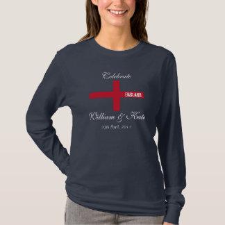 Celebrate William and Kate T-Shirt (Dark)