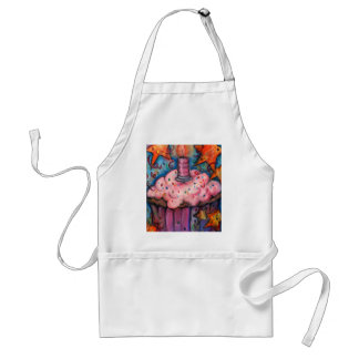 Celebrate With A Cupcake Adult Apron