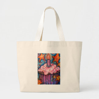 Celebrate With A Cupcake Large Tote Bag