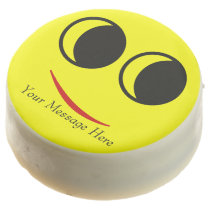 Celebrate with a Funny Smiley Face Chocolate Covered Oreo
