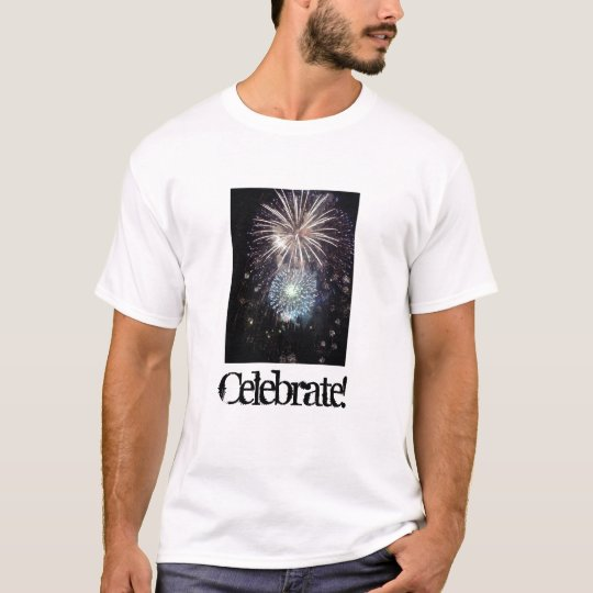 Celebrate with Fireworks T-Shirt