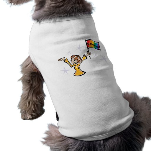 Celebrate with Pride! Pet Tshirt