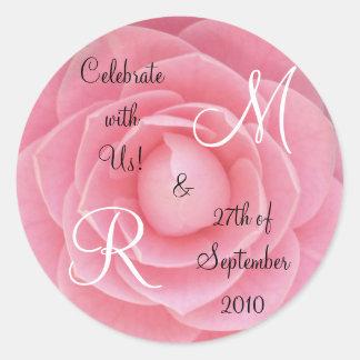 Celebrate with US Sticker