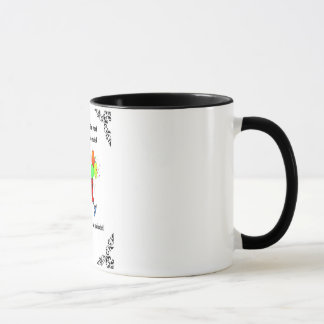 """CELEBRATE YOU"" 11 Oz. RINGER BIRTHDAY COFFEE MUG"