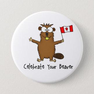 Celebrate Your Beaver Button
