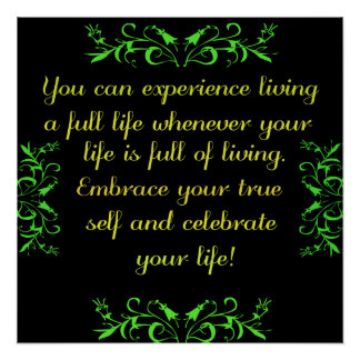 Celebrate Your Life 2 Poster
