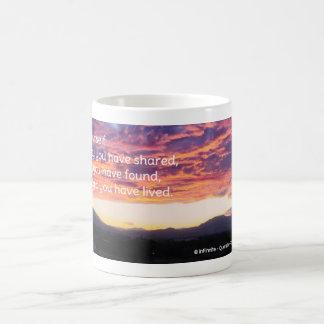 Celebrate yourself! coffee mug