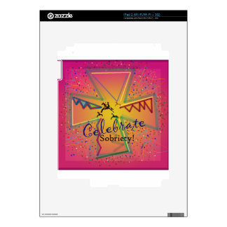 CelebrateSOBRIETY.png Decals For The iPad 2