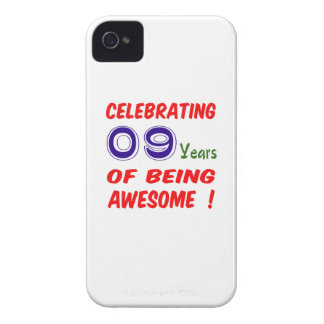 Celebrating 09 years of being awesome ! Case-Mate iPhone 4 case