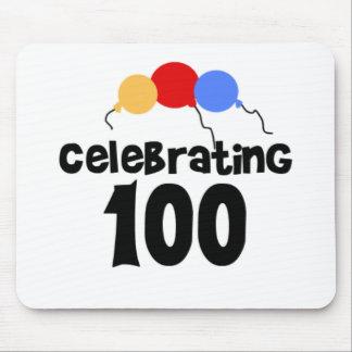 Celebrating 100  mouse pad