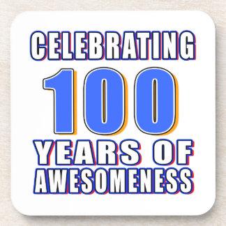 Celebrating 100 years of awesomeness coaster