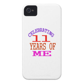 Celebrating 11 Years Of Me iPhone 4 Case