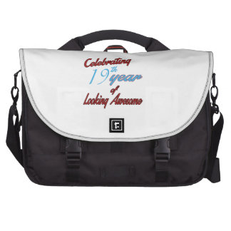 Celebrating 19th year of Looking Awesome Laptop Computer Bag