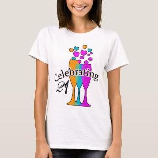 Celebrating 21 T-Shirt