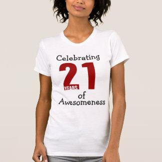 Celebrating 21 years of Awesomeness T Shirt