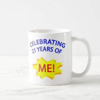 Celebrating 21 Years Of Me! Mugs