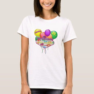 celebrating 21st BIRTHDAY In Las Vegas T-Shirt