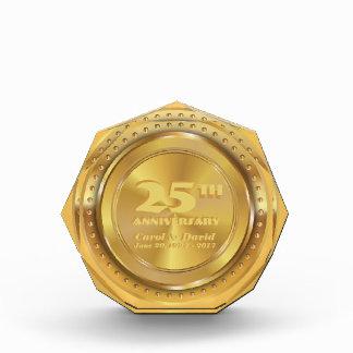 Celebrating 25th Anniversary. Customizable. Award