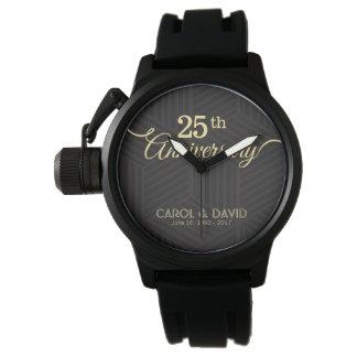 Celebrating 25th Anniversary. Customizable. Wrist Watch