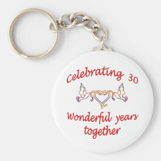 CELEBRATING 30 YEARS KEYCHAIN