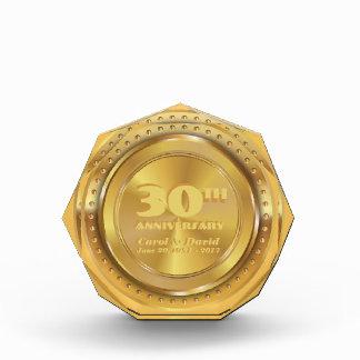 Celebrating 30th Anniversary. Customizable. Award