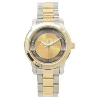 Celebrating 30th Anniversary. Customizable. Wristwatch