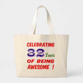 Celebrating 32 years of being awesome ! bag