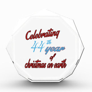 Celebrating 44th year of christmas on earth awards