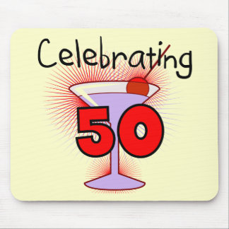 Celebrating 50 Tshirts and Gifts Mouse Pad