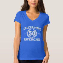 CELEBRATING 50 Years Of Being AWESOME Tee