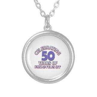 Celebrating 50 years of raising hell custom jewelry