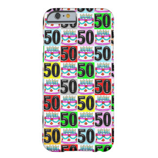 CELEBRATING 50 YEARS OLD BARELY THERE iPhone 6 CASE
