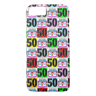 CELEBRATING 50 YEARS OLD iPhone 7 CASE