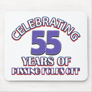 Celebrating 55 years of raising hell mouse pad